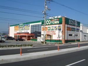 エコタウン(塗装直後)